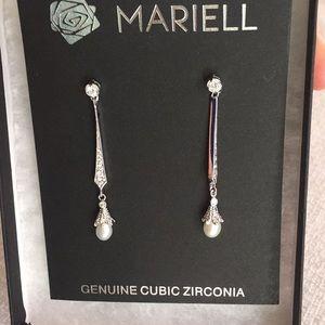 "Brand new ""Mariell"" dangle earrings!"